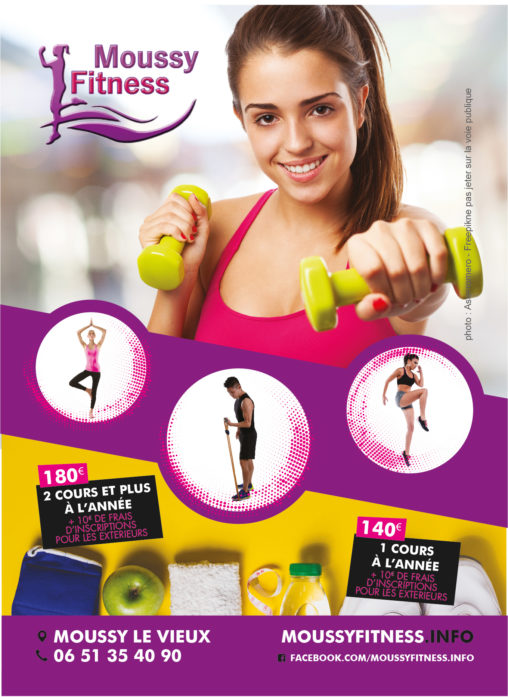 Flyer Moussy Fitness